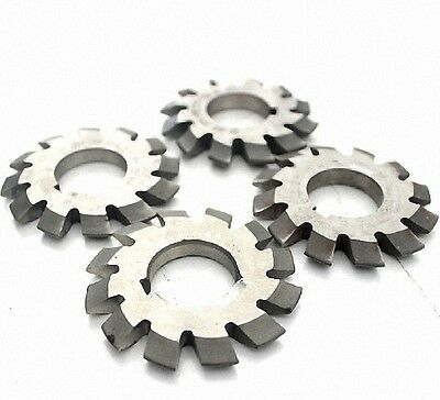 Set 8Pcs Module 1.25 PA20 Bore22 #1-8 Involute Gear Cutters