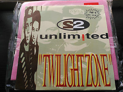 Single Promo 2 Unlimited - Twilight Zone - Blanco Y Negro Spain 1992 Vg+