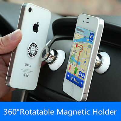 Universal 360 Degree Magnetic Mobile Phone Car Dash Holder Stand Mount UK STOCK