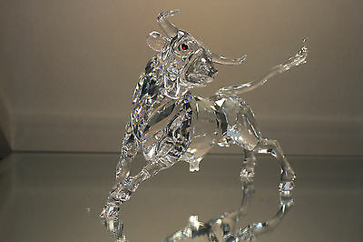 Swarovski 2004 Limited Edition BULL Ltd Edition 1 of 10,000 MINT in Suitcase