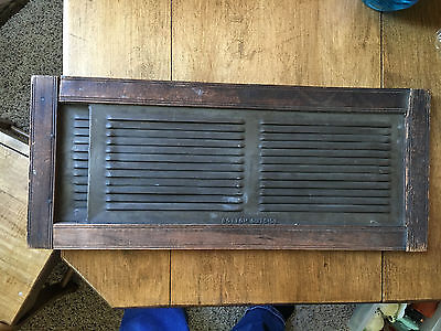 Vintage Architectural Salvage Wood Window Transom Vent Expandable