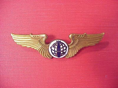 Original Rare Wwii Era Nationalist Chinese China Bombardier Wings Badge