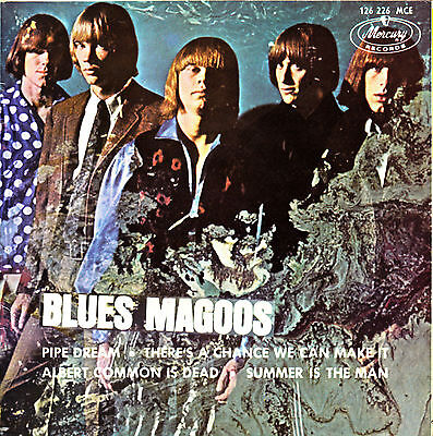 EP BLUES MAGOOS pipe dream sueño extraño 45 SPANISH RARE 1970 PSYCH ROCK GARAGE