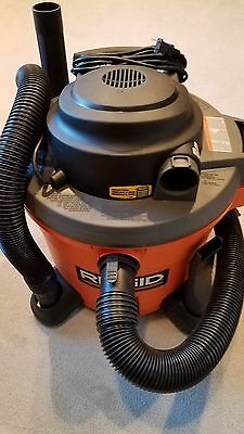 Ridgid Vacuum Wd 1270 12 Gallon 5.0 Hp Wet/dry