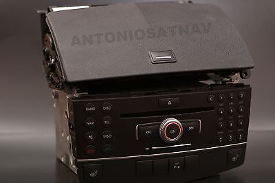 Mercedes benz ntg4 W204 C class HDD SINGLE  Radio navigation system