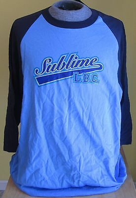 SUBLIME L.B.C. T-SHIRT, Size XL, Long Sleeve, Jerzee Style, New w/ Tag