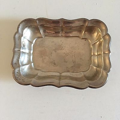 Vintage Sterling Silver Small Reed & Barton Dish Pins Trinkets Jewerly Nuts