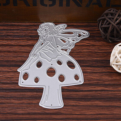 DIY Angel Cutting Dies Stencil Scrapbook Card Album Paper Embossing Craft Decor