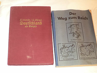 9 German maps, Photos , Books
