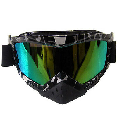 Adult Motocross Motorcycle ATV MX Off-Road Goggles Dirt Bike Sport sa0