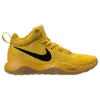 8eea10a934b31 Mens Nike Zoom Hyperrev 2017 Lmtd Yellow Basketball Shoe Men s Select Your  Size