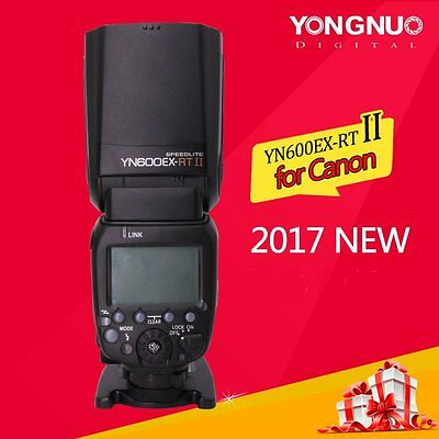 Yongnuo YN600EX-RT II Wireless Master Flash Speedlite Unit TTL for Canon Camera