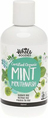 THE WHOLE BOODIES Mouthwash Mint - 250ml x 2