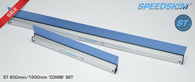 Speedskim ST Plastering Rule 600mm/1200mm COMBI SUPER SAVER SET