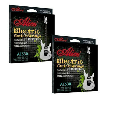 3 x Pack Sets Electric Guitar Strings Light Regular Gauge Anti Rust  9-42 10-46