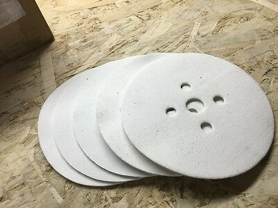 "7"" Felt Disc For Flooring Edger Sander (Qty. 5)"