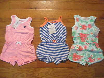 3 piece LOT of Baby Girl Spring/Summer clothes size 6 months NWT