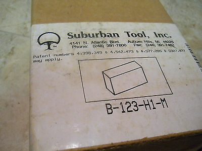 SUBURBAN TOOL 1 2 3 Blocks - One Pair - USA Quality - New in wood box