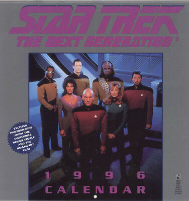 Fourniture bureau Star Trek Calendrier Star Trek 1996 - The next generation