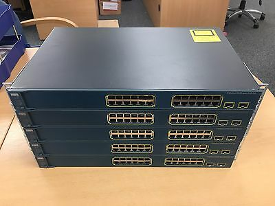 Cisco Ws-C3560-24Ps-S Bundle - Job Lot - 5 Poe Switches Some Damage To Ports