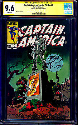 Captain America Special Edition #2 CGC SS 9.6 signed Jim Steranko #113 REPRINT