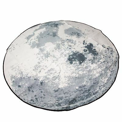 Picnic On The Moon Picnic Blanket Round Lunch Beach Mat