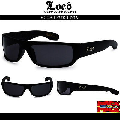 f1c7a161a65 Image Unavailable Source · NWT OG LOCS Sunglasses Gangster Biker Trucker  Style with Super Dark