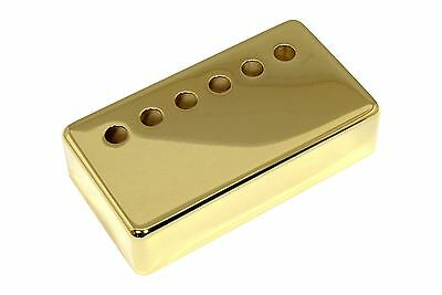 Humbucker Pickup cover Gold plated nickel silver 48mm pole spacing