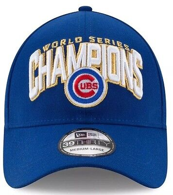 ac1efcd363f Chicago Cubs New Era 39THIRTY 2016 World Series Champions Men s Locker Room  Hat