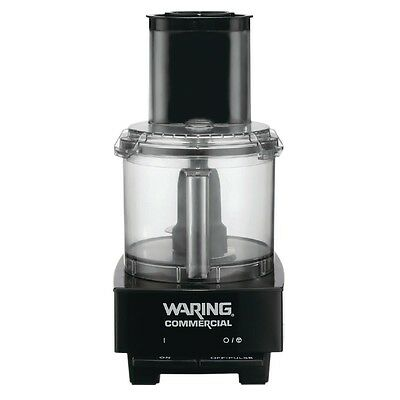 Waring WFP14SK Commercial Food Processor 3.3Lt 600W with Veg Feed Lid & 2 Discs