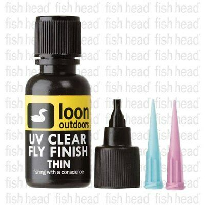NEW Loon UV Clear Fly Finish- THIN