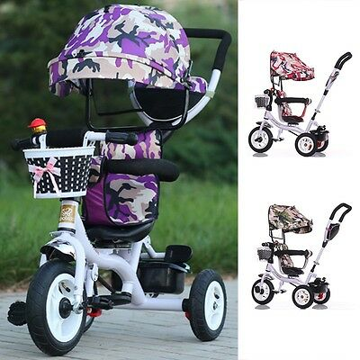 New Baby Stroller Rotatable Seat Child Ride On Toys Carriage Sunproof Pram Buggy