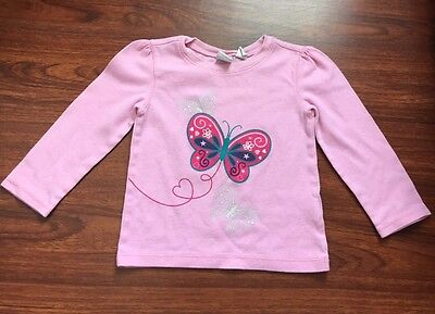 Toddler Baby Girl Long Sleeve Thermal Top Shirt Size 2T