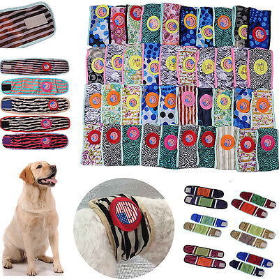 Pet Dog Puppy Cotton Belly Band Diaper Sanitary Underwear Physiological Pants