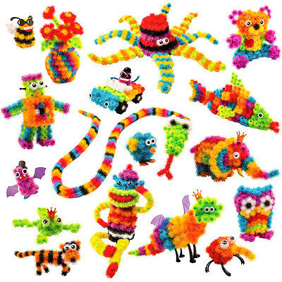 100pc Child Educate Flexible Toy Creative Puzzle Thorn Ball Animal DIY Assemble