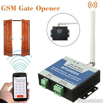 RTU5024 GSM Wireless Door Access Gate Opener Free Call Remote Control by Phones