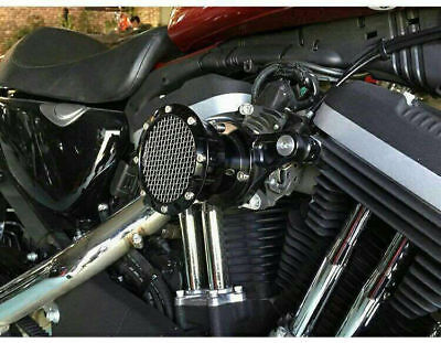Black Velocity Stack Air Cleaner Filter System For Sportster XL 883 1200 91-14