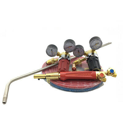 Acetylene Super Heating Torch Kit - SHA1+ Mixer + 700mm Barrel - 5m Hose - Regs