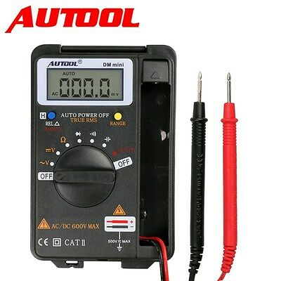 DM Mini Portable Pocket Digital Autoranging AC/DC Multimeter Tester Frequency