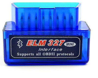 Mini ELM327 Bluetooth OBD2 V2.1 Car Auto Diagnostic Interface Scanner Android