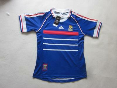 Retro Vintage 1998 FIFA World Cup France soccer away  jersey
