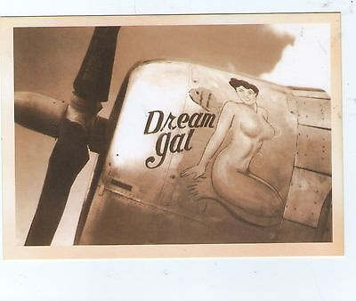 B 52 BOMBER Pin Up Girl DREAM GAL Postcard