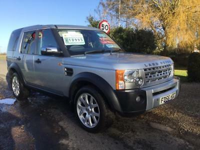 LAND ROVER DISCOVERY 3 TDV6 S, Silver, Manual, Diesel, 2006