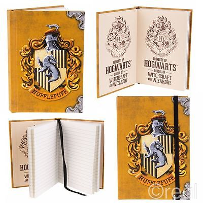 New Harry Potter A6 Hufflepuff Notebook Hogwarts Note Pad Journal Mini Official