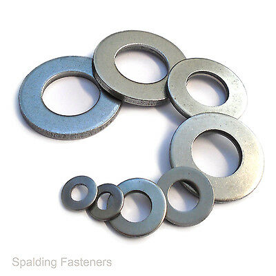 "Self Colour Imperial Table 3 Heavy Thick Flat Washers 1/4"" To 1"""
