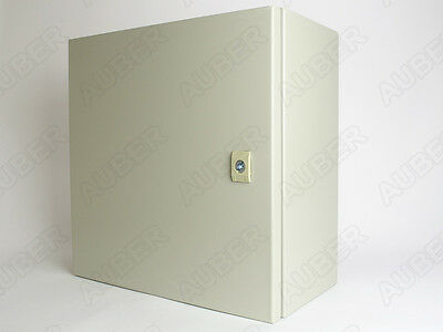 "Wall-mount Enclosure for 4 Controllers 16x16x8"", 16 Gauge, Free US Shipping"