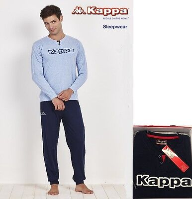 Pigiama Uomo KAPPA HOMEWEAR M/L Cotone Primaverile 100% PE17 collection