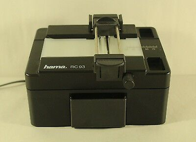 vtg HAMA RC-93 Electrical Light Film Preview & Slide cutter slide film 60mm 1292