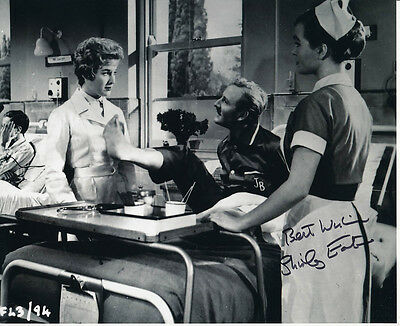 Shirley Eaton SIGNED photo - J1062 - Carry On Nurse