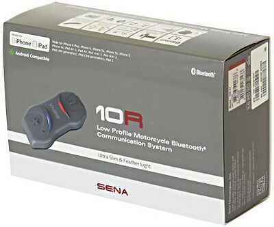 SENA 10R SinglePack Low Profile Biker Bluetooth 4.1 Stereo Headset 8809277261433